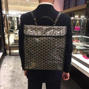 GOYARD Saint Leger briefcase Backpack